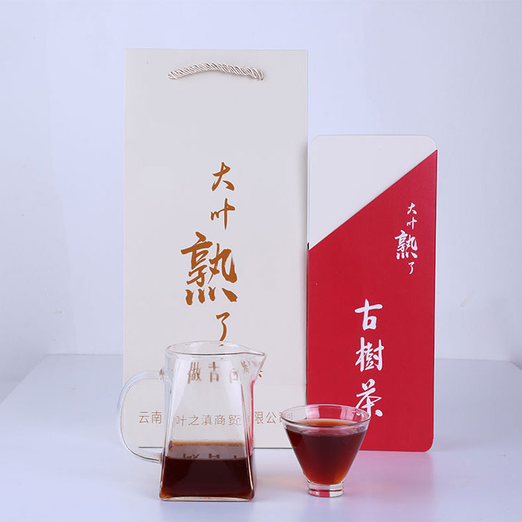 China yunnan big leaf ancient tree black tea organic puer tea - 4uTea | 4uTea.com
