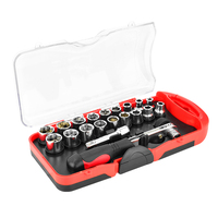 14 deep socket set tools socket 25mm complete pop car mount packaged impact swivel socket set