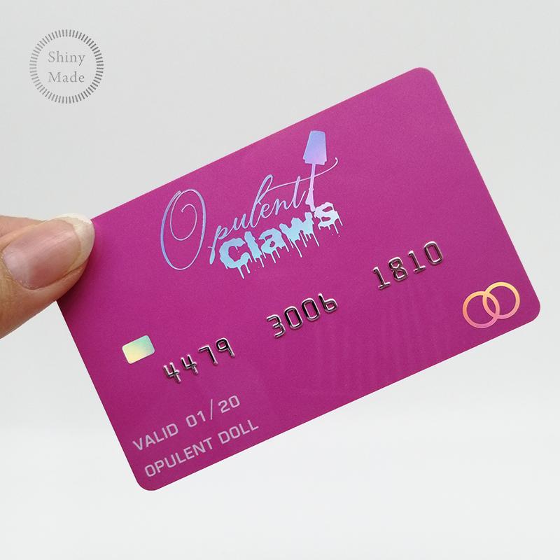 사용자 정의 홀로그램 레이저 플라스틱 회원 카드 클럽 비즈니스 인쇄 신용 카드 명함 pvc 카드