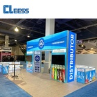 Show Booths Show Aluminum Extrusion Portable LED Trade Show Booth 10x10