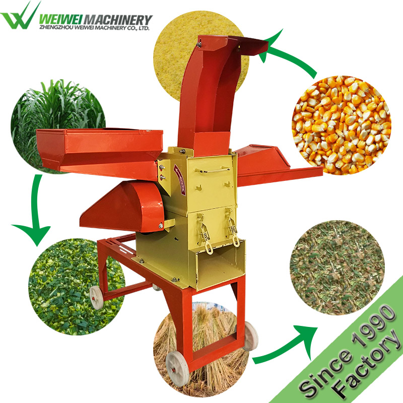 Weiwei forage machine capacity 400KG cattle feed mill