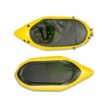 Whitewater packraft TPU Airtight ซิป.