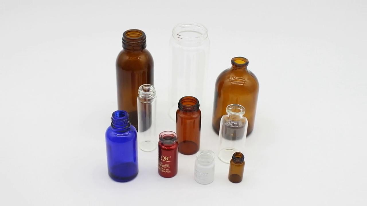 Schraubverschluss Glas Flasche