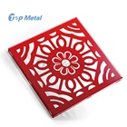Beautiful Aluminum Carved Partition Panels Laser Cut Wall Decorative Screen