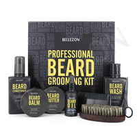 MOQ50 Private Label Gentleman Beard Oil and Beard Grooming Kit