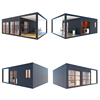 prefab container 20ft office low cost pre fab container house germany