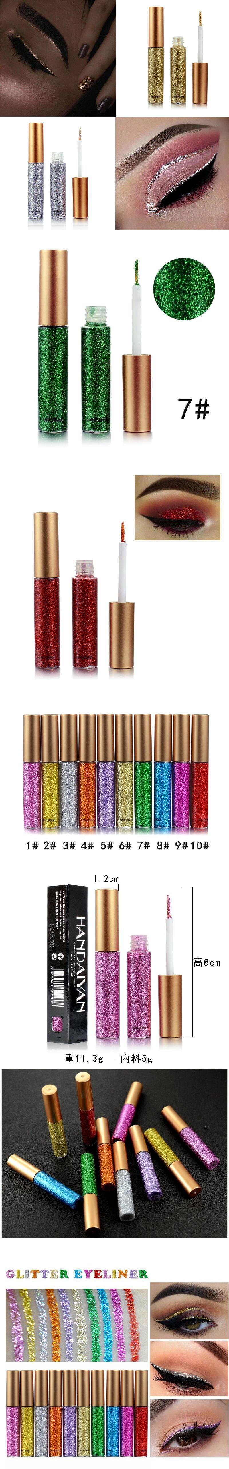 Kozmetik makyaj doğal su geçirmez mat renk sıvı göz kalemi su aktif eyeliner