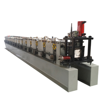Downspout square tube steel cold roll forming machine