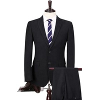 New Style Men Suit Dark Grey Business Suit Two Piece Wedding Men Suit Slim Fit