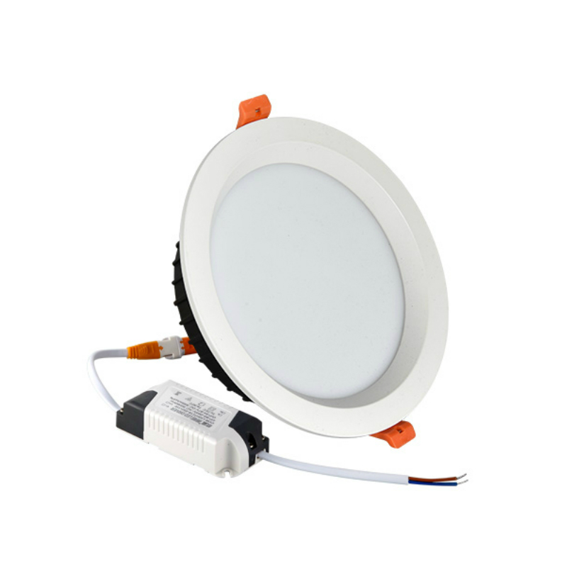 4w-24w family series round smd anti glare recessed ceiling light 220V ceiling downlight led down light for project