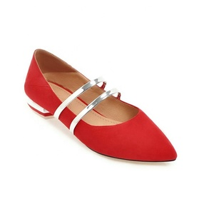 Cheap Women Flats Dress Shoes Sexy Pointed Toe Office Work Shoes All Match Girls Comfortable Fancy Shoes