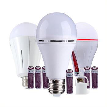 Portable Cordless Charging Emergency Bulb Recharge Bulb Emerg Led Lights With Battery Batteries