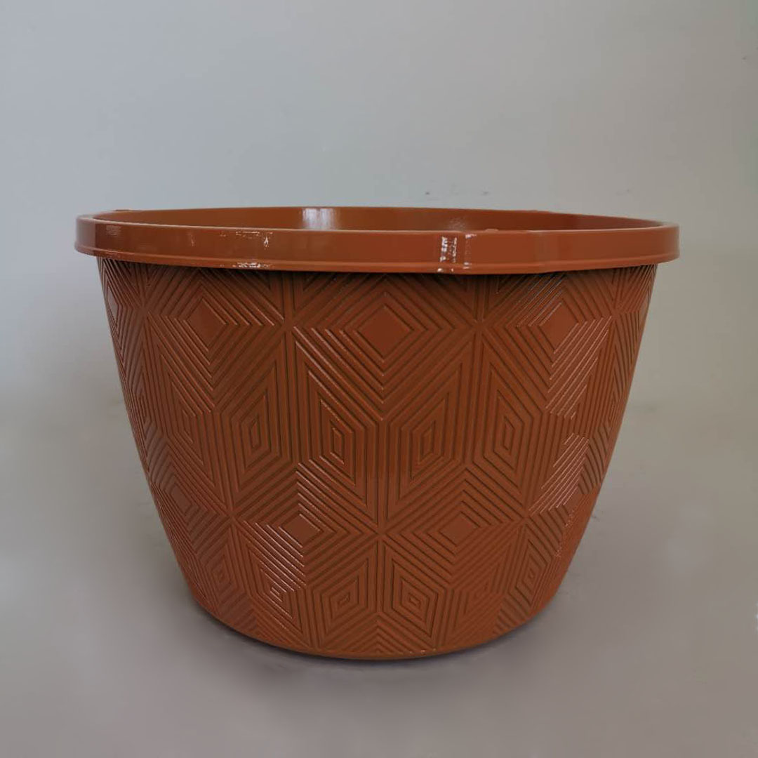High quality 9inch 11inch  plastic flower pot floor flower pot indoor outdoor flower planters