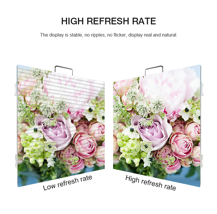 Manufacturer Indoor P3.91 Glass Window LED Display Quality Assurance LED Poster Display Screen