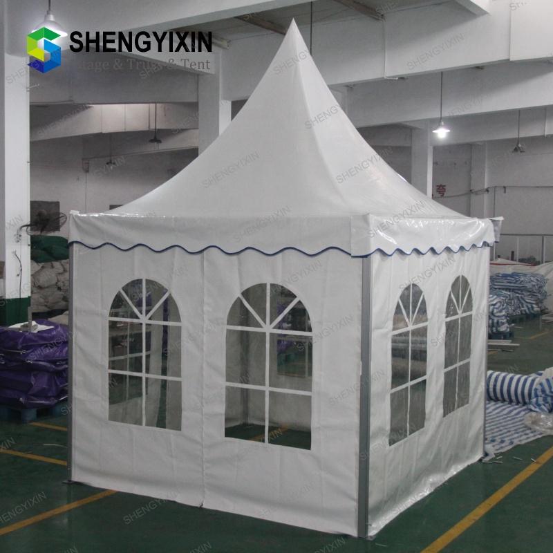 Индивидуальные Портативный 3x3 до 10x10 тканевый фон с изображением вечерние Пагода беседка постоянного прозрачный навес события Аравийский шатер для отель б/у