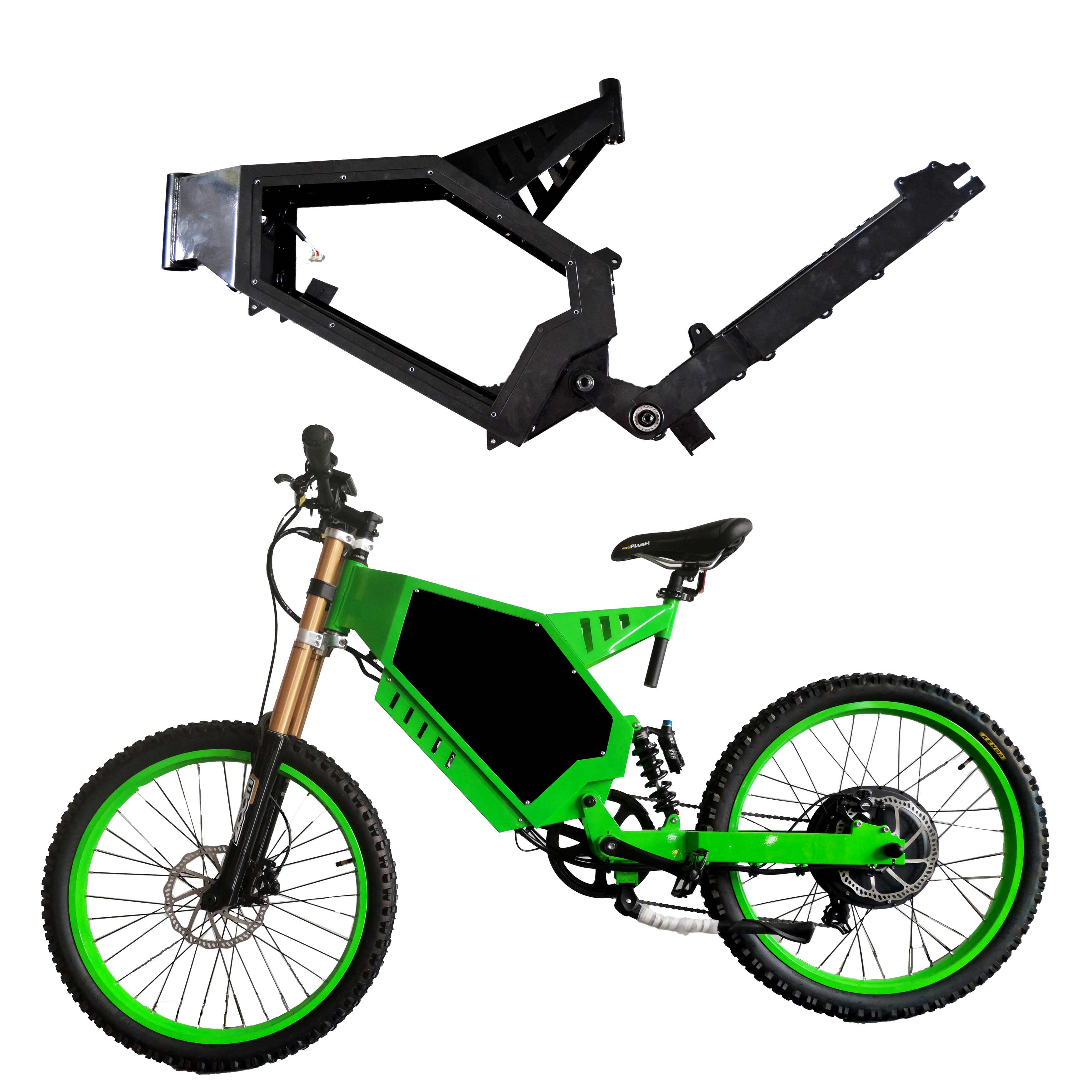 Powerful Motor Enduro Electric Bike Ebike 72V 8000W with Conversion Kit For Sale