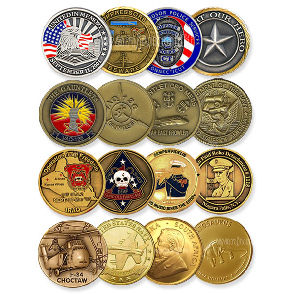 Hot selling custom high quality commemorative 8 ball pool coins Wholesale sell blank USA logo metal old coin price