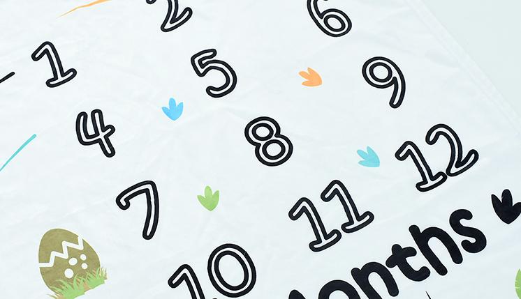 100% polyester numérique imprimé couvertures par personnalisé couverture de bébé par adapté aux besoins du client