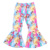 In Stock High quality Design kids girls Lace Ruffle Legging Wholesale  ruffle Legging For toddler floral Leggings