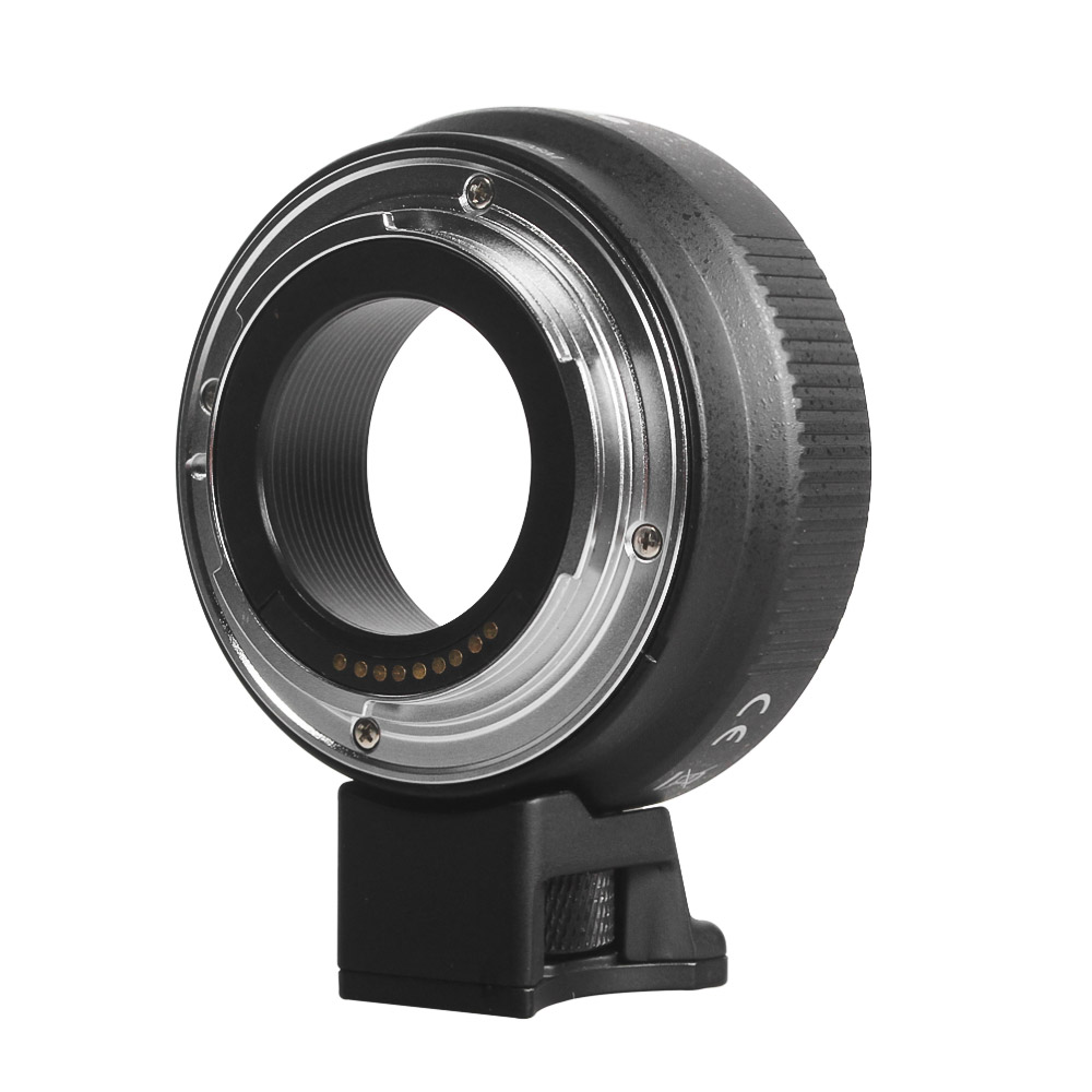 Commlite CM-EF-EOSM Lens Mount Adapter Electronic AF Mount Adapter with IS Function for Canon EF/EF-S Lens to Fit for Canon EOS