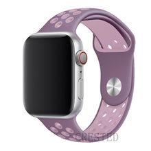 Спортивный ремешок для Apple Watch band 44 мм/40 мм apple watch 5 4 3 2 band iwatch band 42 мм/38 мм браслет correa ремень аксессуары для часов(Китай)