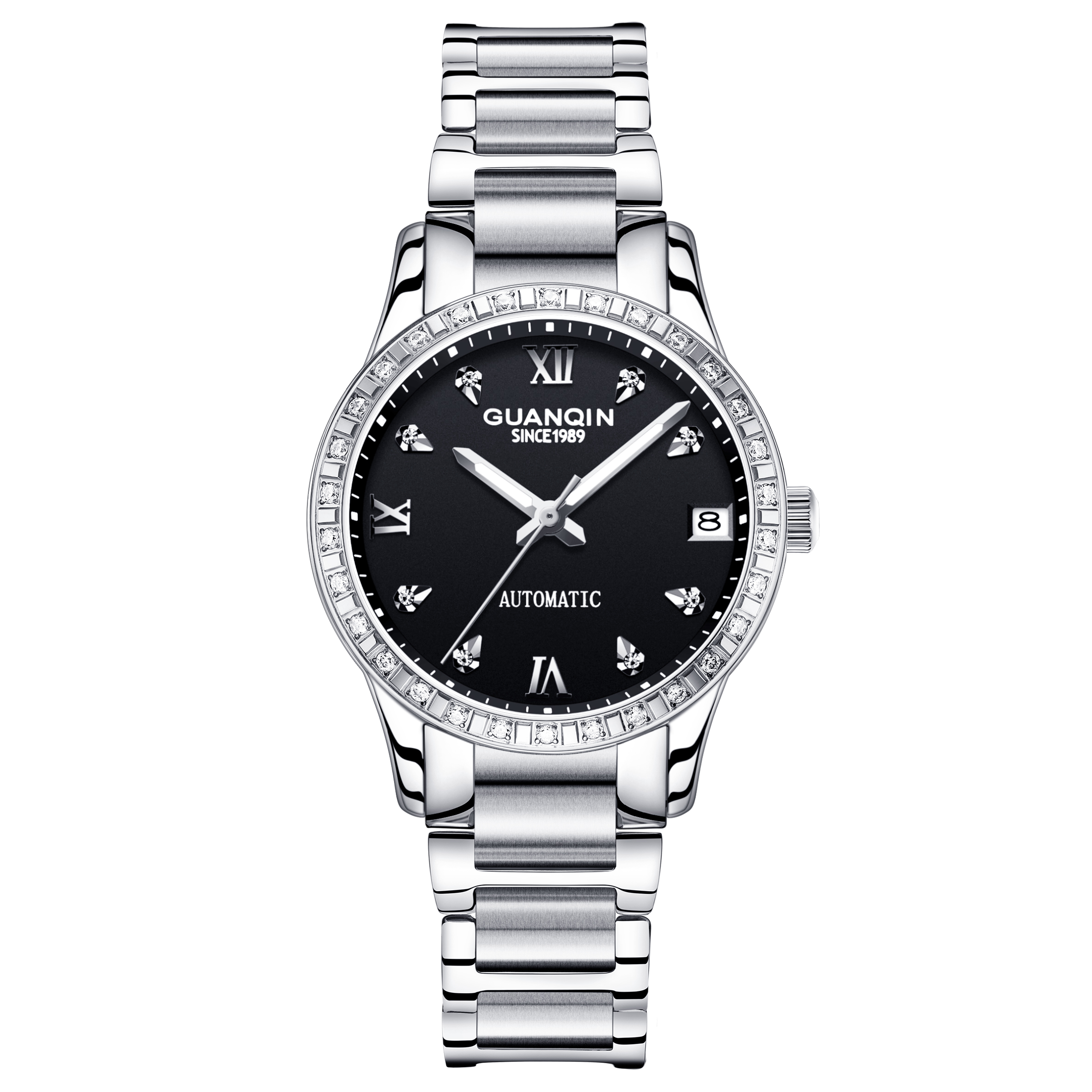 Hot Sale Mop Lady Watches In Wristwatches Elegant <strong>Ceramic</strong> Band Diamond <strong>Case</strong> Women Watch