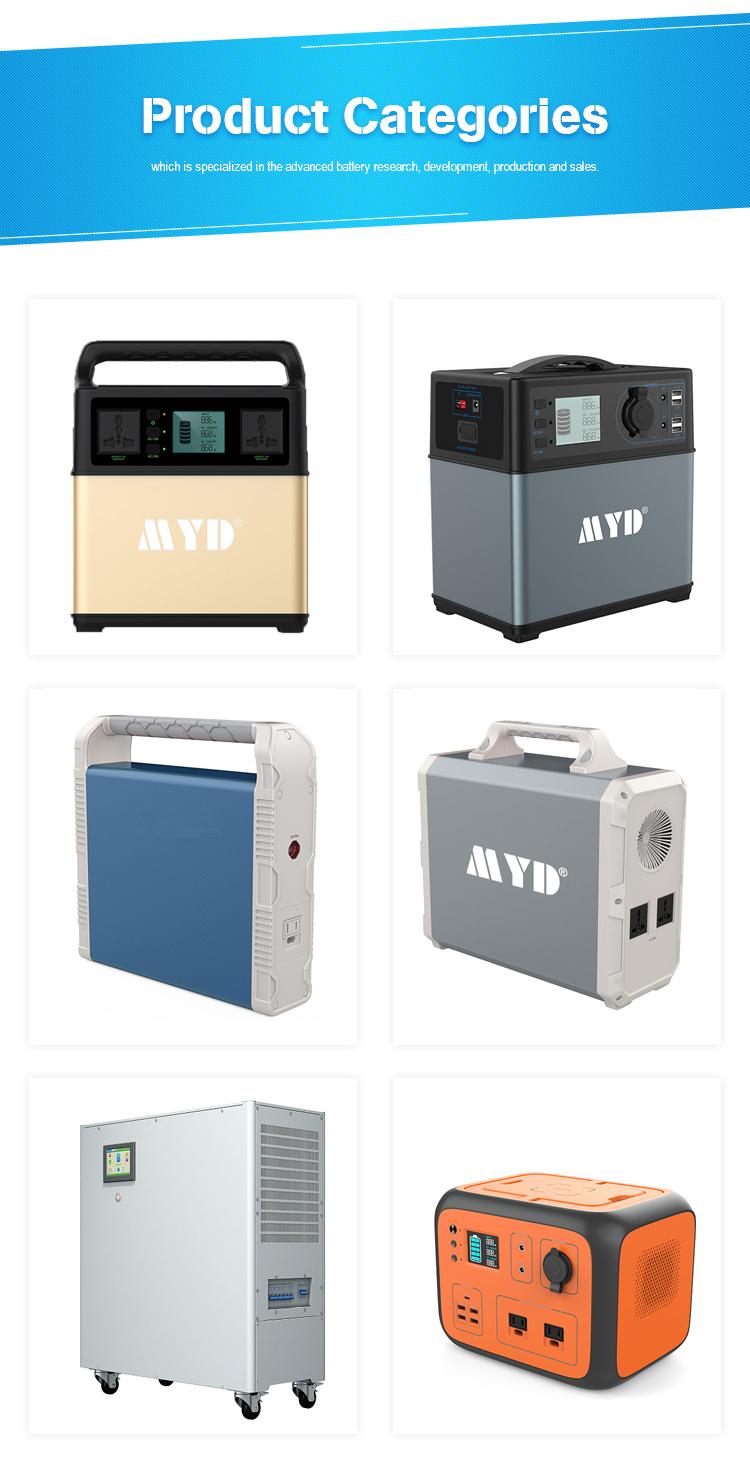 Linea completa di produzione esterna 1800WH mini generatore solare