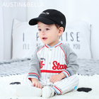 AustinBella/wholesale boutique baby clothes boys' rompers newborn jumpsuit 100% organic cotton infant toddlers high fashionable