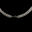 Handmade Chain Necklace Crystal Crystal Silver Jewelry Necklace
