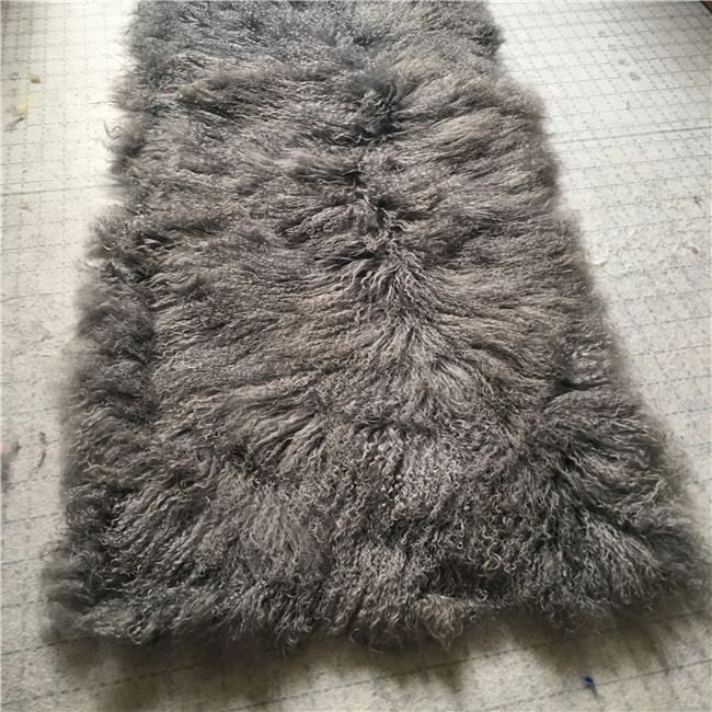Long hair sheepskin mongolian fur material