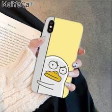 MaiYaCa корейский красивый мультяшный чехол для телефона с рисунком в виде животного для Apple iphone 11 pro 8 7 66S Plus X XS MAX 5s SE XR fundas мобильный чехол(Китай)