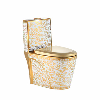 china sanitary ware importers golden wc S trap one piece toilet with basin