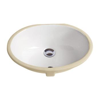Oval Bathroom Porcelain Undermount Sink