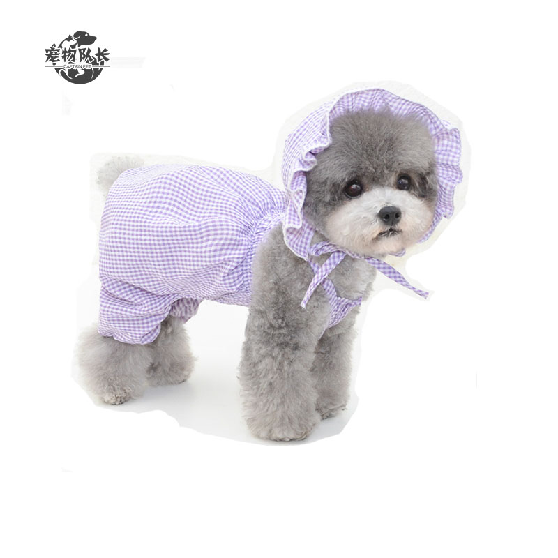Spring Summer Puppy Clothes Coat Skirt Pumpkin Pants Small Teddy Dog Clothes