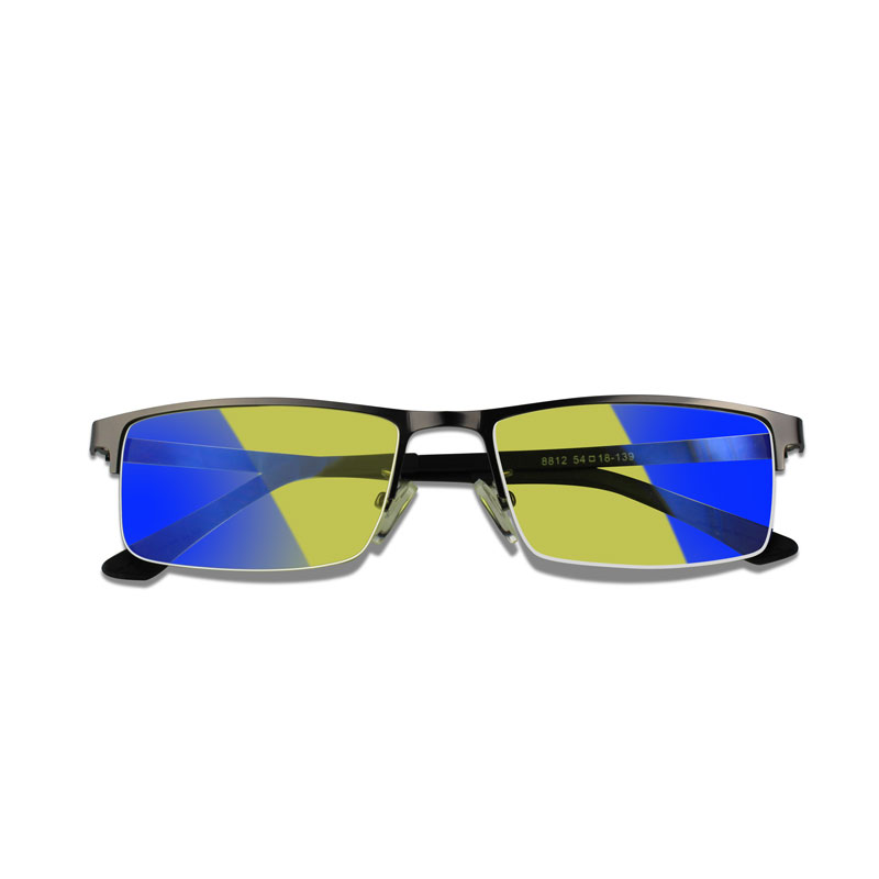 Photochromic 선글라스 옐로우 렌즈 카멜레온 블루 레이 라이트 차단 컴퓨터 안경 게이머 남성용 여성 안경 안티 UV400