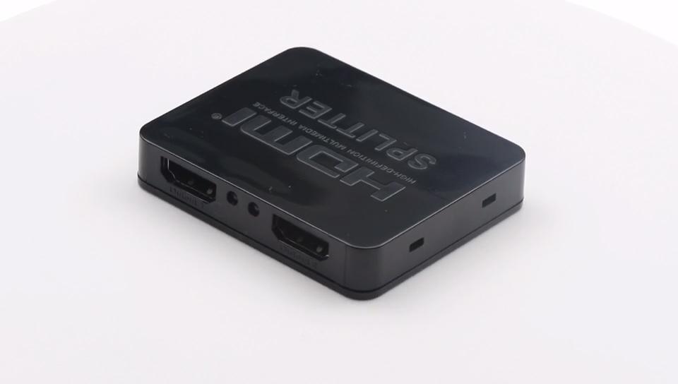 HD 1080p 4K HDMI Splitter HDMI Switch Switcher 1X2 Split 1 in 2 Out Verstärker Dual Display Für DVD PS3 HDTV
