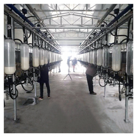 Dairy goat milking machine testing equipment cow goat milking parlor for sale