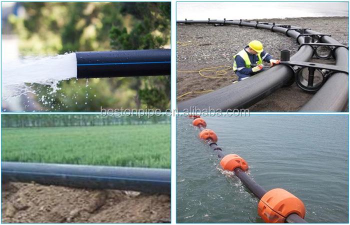 2 אינץ hdpe צינור pn16 מחירים 4 אינץ HDPE PE צינור להשקיה