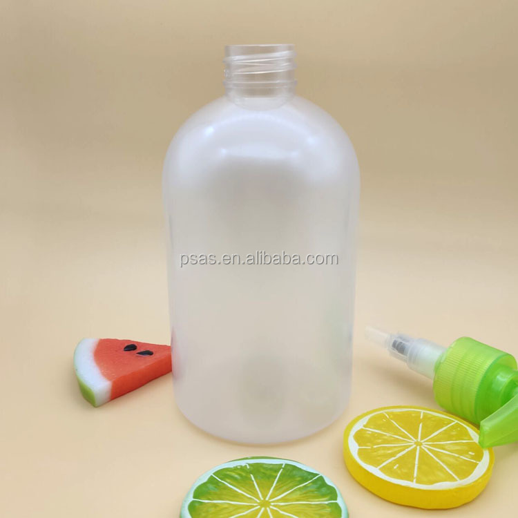 Free samples 500ml Empty Plastic PET liquid shampoo hand soap bottle