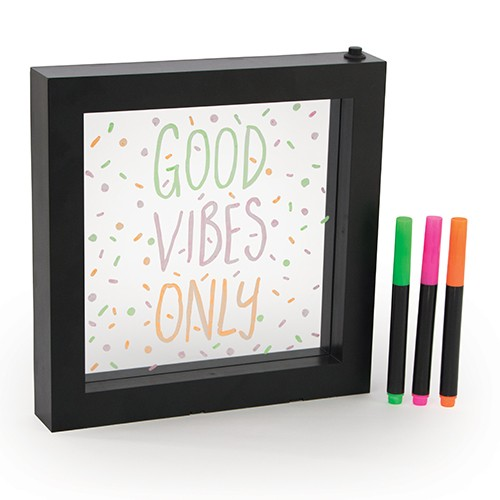 Halloween crafts led writing message board home decoration pieces