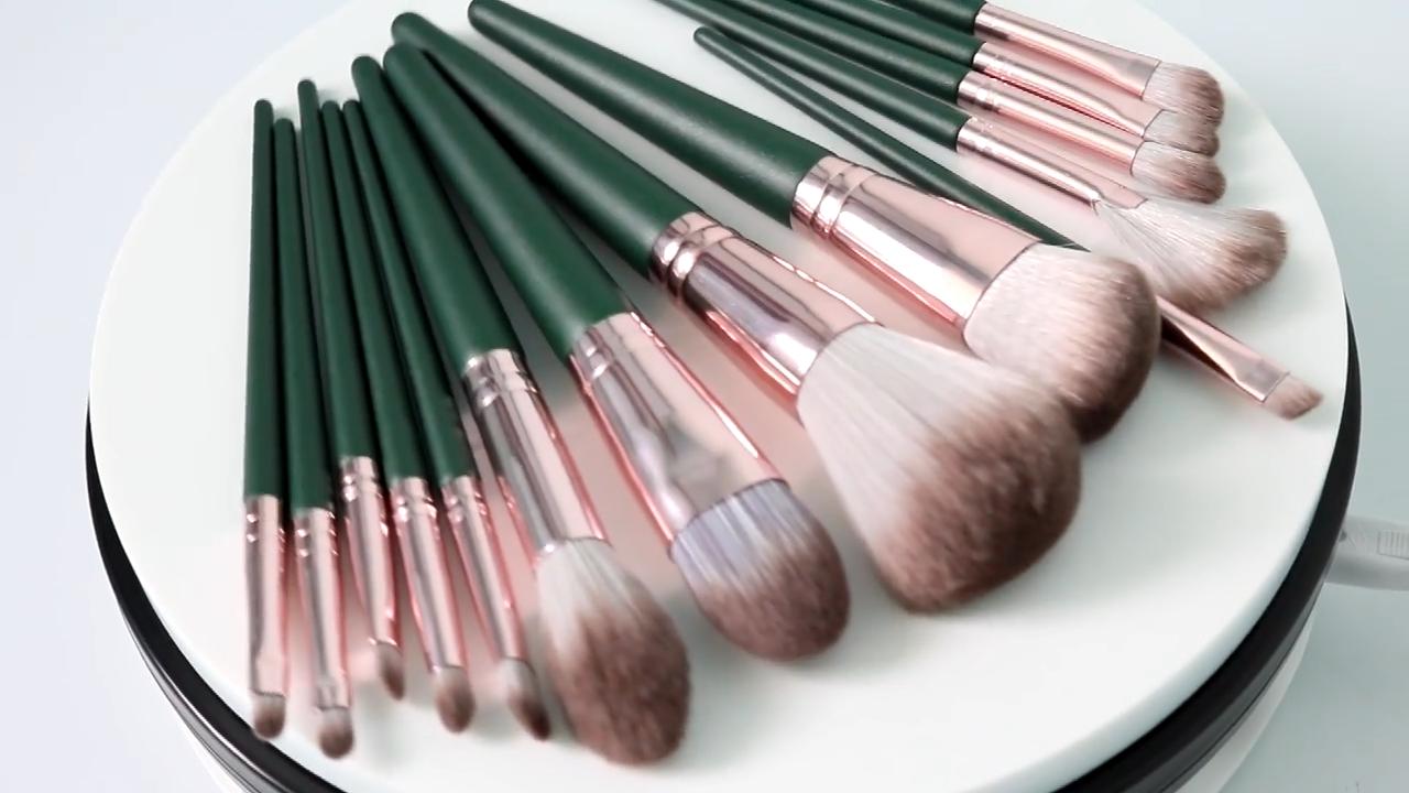 2020 горячая Распродажа 14 шт. кистей для макияжа мягкие волосы Косметика макияжные Кисти Набор оптовая продажа