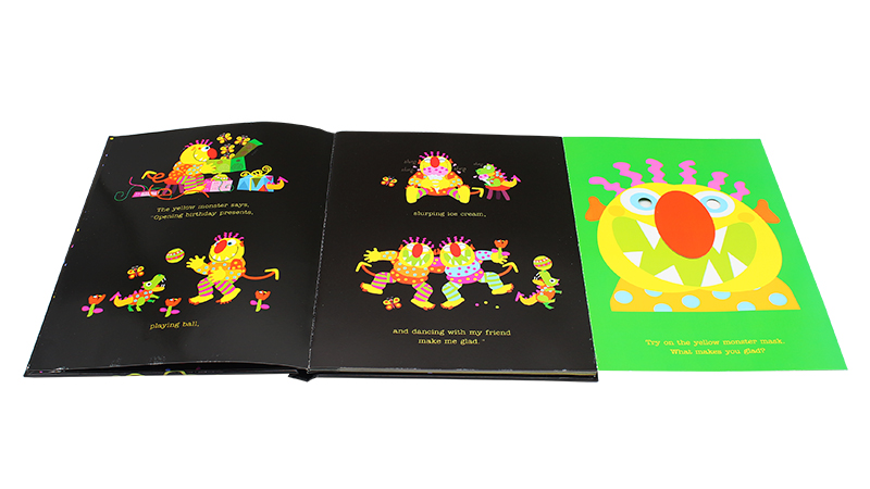 Best Children's 3d Board books printing customized pop up book for kids