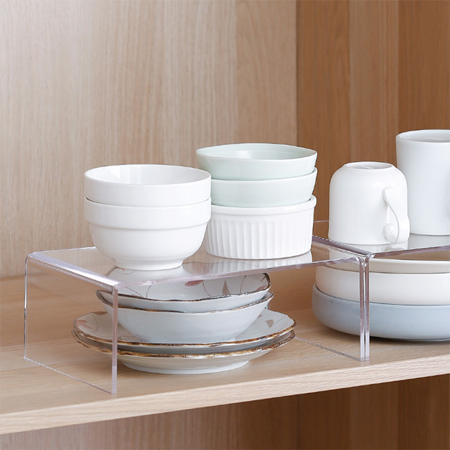 SHIMOYAMA High Quality Living Room Furniture Acrylic Magazine Increase Bracket Rack Coffee Table for Storaging Book