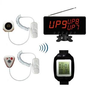 Hospital wireless nurse emergency call system