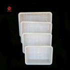 3L Commercial food grade plastic food storage tote/box flat trays