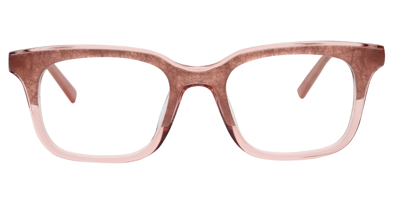 Ready Stock Transparent Square Spectacles Frame Acetate Eyeglasses Optical Eyewear Frames