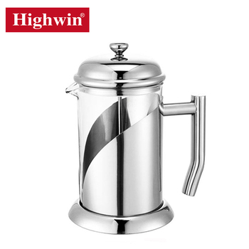 High quality stainless steel filter french coffee press for kitchen
