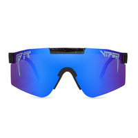 Large frame cycling sunglasses dazzle color fully plated true film polarized Pit Viper sunglasses,hot selling in North American