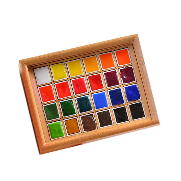 Wholesale Makeup Palette Bamboo Eyeshadow Palette with Sliding Lid