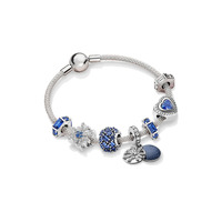 Klein Jewelry Charms Fits Original Pandora Charm Bracelet 100% 925 Sterling Silver Beads